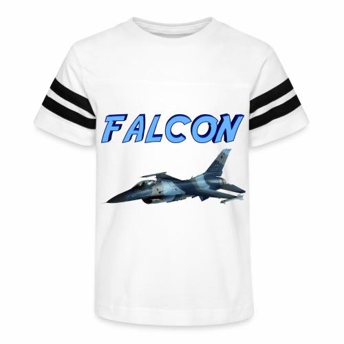 F-16 Fighting Falcon - Kid's Vintage Sports T-Shirt