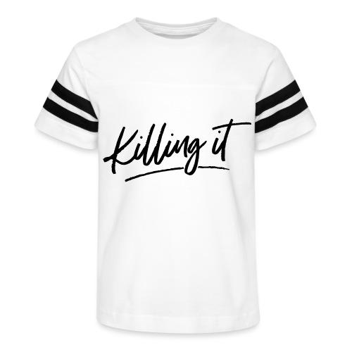 Killing It - Kid's Vintage Sport T-Shirt