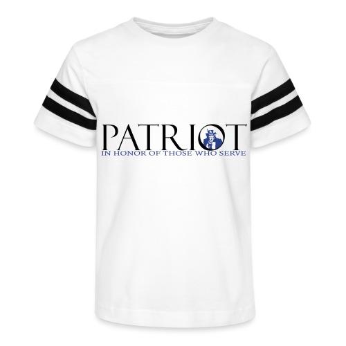 PATRIOT_SAM_USA_LOGO - Kid's Vintage Sport T-Shirt