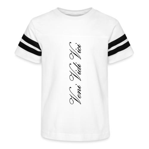 veni vidi vici calli leggins - Kid's Vintage Sport T-Shirt