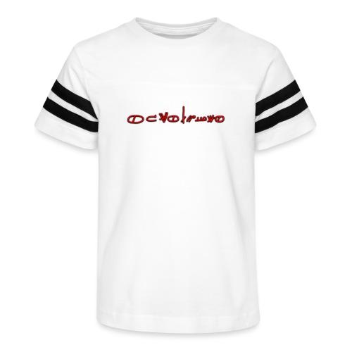 Sign1News in written ASL (Exclusive Design) - Kid's Vintage Sport T-Shirt