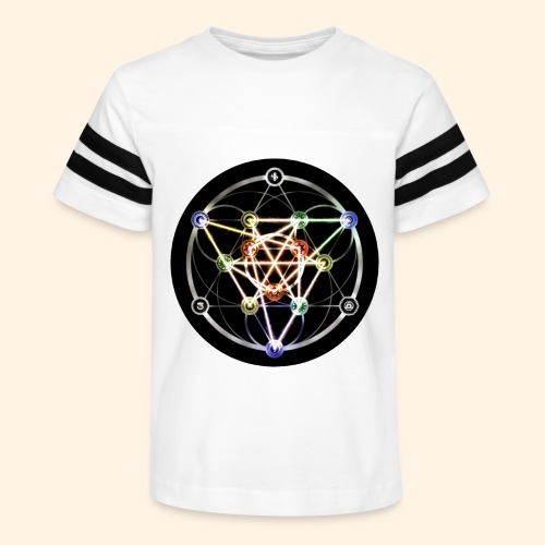 Classic Alchemical Cycle - Kid's Vintage Sport T-Shirt
