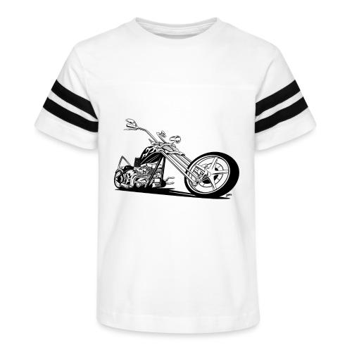 Custom American Chopper Motorcycle - Kid's Vintage Sport T-Shirt