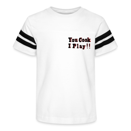 2D You Cook I Play - Kid's Vintage Sport T-Shirt