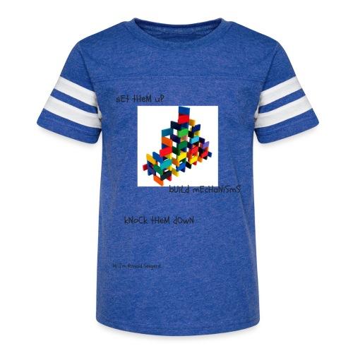Hi I'm Ronald Seegers Collection-(transparent) - Kid's Vintage Sport T-Shirt