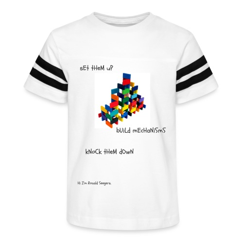 Hi I'm Ronald Seegers Collection-(transparent) - Kid's Vintage Sport T-Shirt