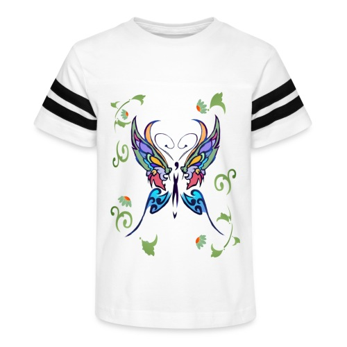 Bright Butterfly - Kid's Vintage Sport T-Shirt