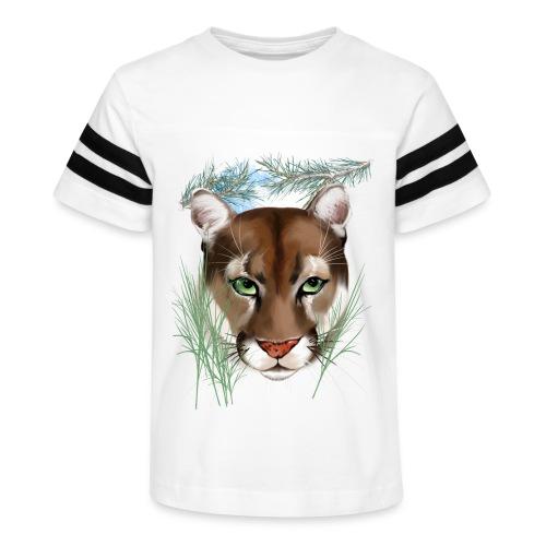 Midnight Puma - Kid's Vintage Sport T-Shirt