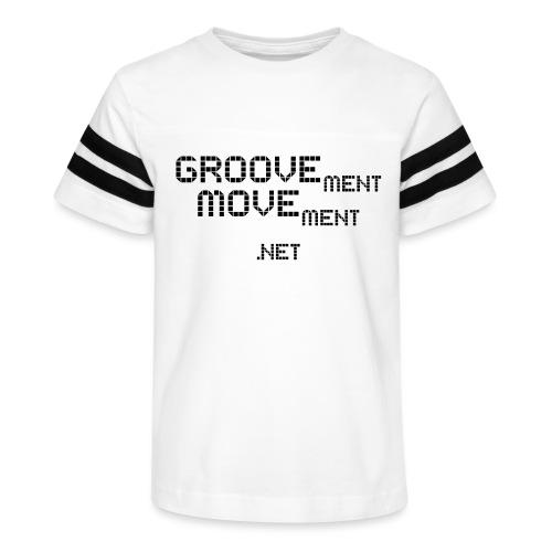 GROOVEment MOVEment 3 - Kid's Vintage Sports T-Shirt