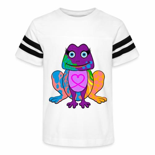 I heart froggy - Kid's Vintage Sport T-Shirt
