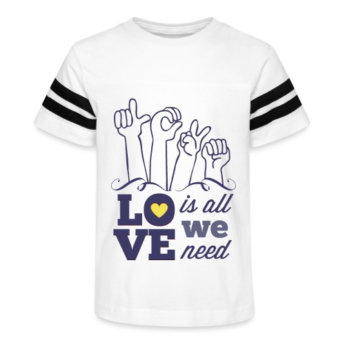 Love is All we Need - Kid's Vintage Sport T-Shirt