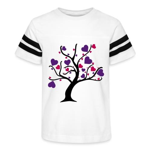 Tree of Hearts - Kid's Vintage Sport T-Shirt