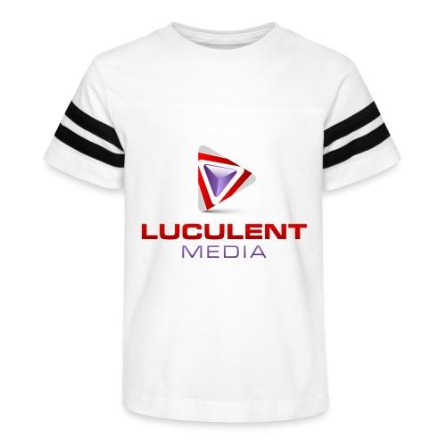 Luculent Media Swag - Kid's Vintage Sport T-Shirt