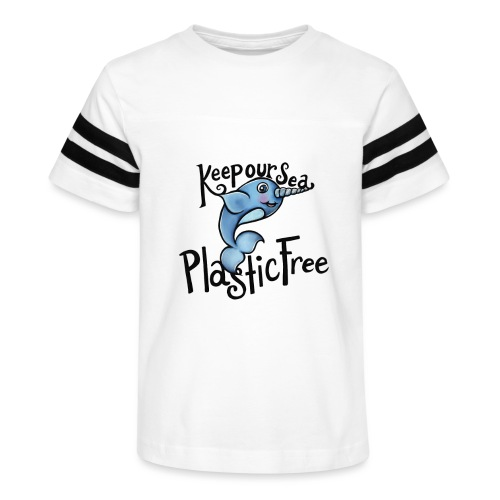 Keep our sea plastic free - Kid's Vintage Sport T-Shirt