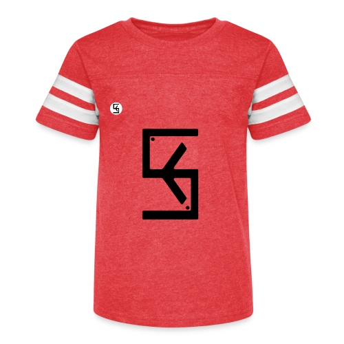 Soft Kore Logo Black - Kid's Vintage Sport T-Shirt