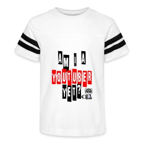 Am I A Youtuber Yet? - Kid's Vintage Sport T-Shirt