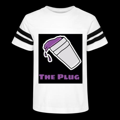 the Plug logo - Kid's Vintage Sport T-Shirt
