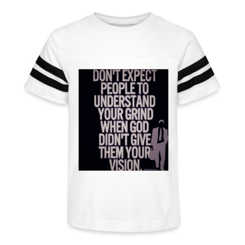 HUSTLE 10 - Kid's Vintage Sport T-Shirt