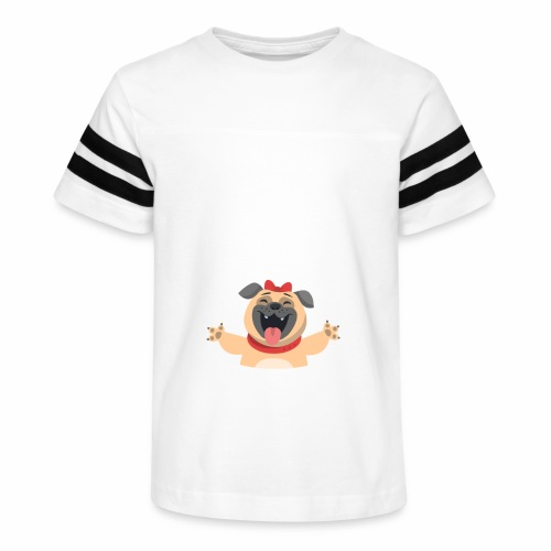 In love with my PUG - Kid's Vintage Sport T-Shirt