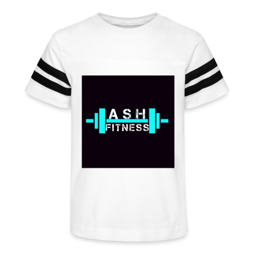 ASH FITNESS ACCESSORIES - Kid's Vintage Sport T-Shirt