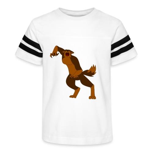 Werewolf Kiba - Kid's Vintage Sport T-Shirt