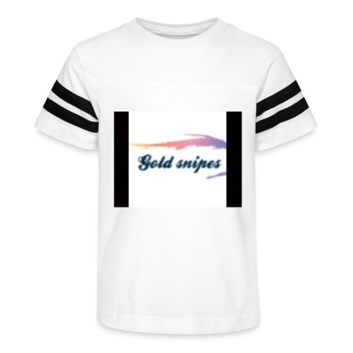 Kids Gold snipes Tshirt - Kid's Vintage Sport T-Shirt
