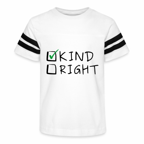 Choose Kind Anti-Bullying - Kid's Vintage Sport T-Shirt