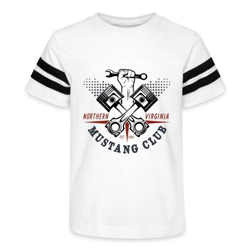 Crazy Pistons - Kid's Vintage Sport T-Shirt