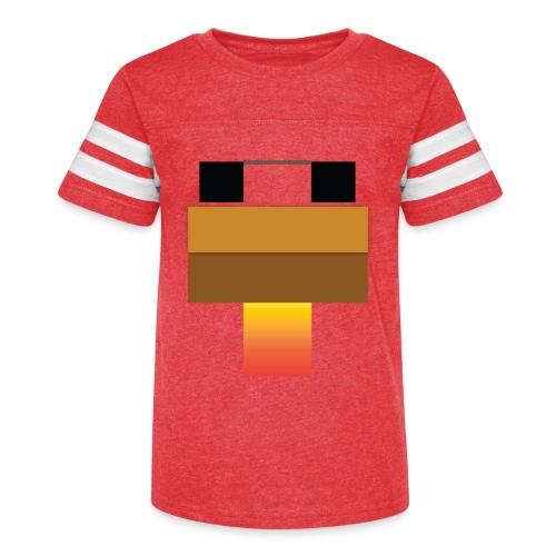 chicken Head - Kid's Vintage Sport T-Shirt