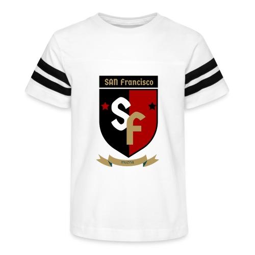 San Francisco Muzna - Kid's Vintage Sport T-Shirt