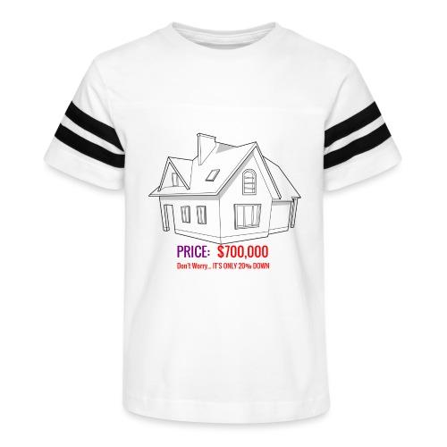 Fannie & Freddie Joke - Kid's Vintage Sport T-Shirt