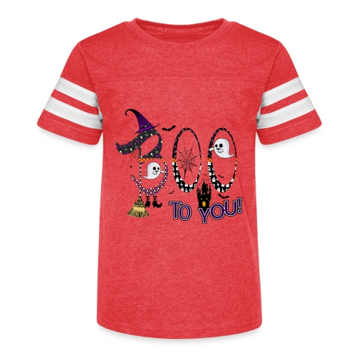 Halloween Boo To You - Kid's Vintage Sport T-Shirt