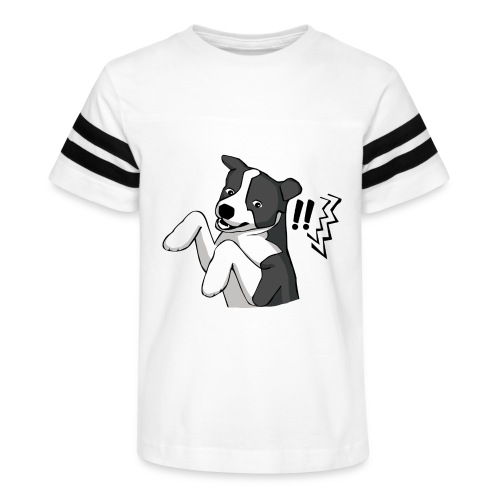 Surprised Border Collie - Kid's Vintage Sport T-Shirt