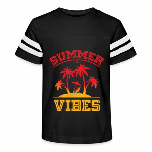 Summer Vibes - Kid's Vintage Sport T-Shirt