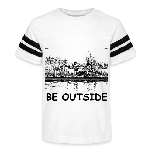 Be Outside - Kid's Vintage Sport T-Shirt