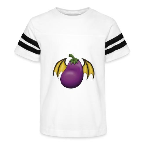 Eggplant Logo - Kid's Vintage Sport T-Shirt
