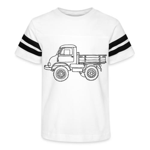 Off-road truck, transporter - Kid's Vintage Sports T-Shirt