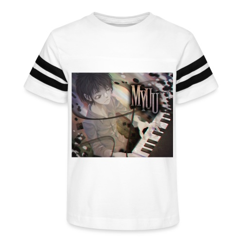 Dark Piano 1 - Kid's Vintage Sport T-Shirt