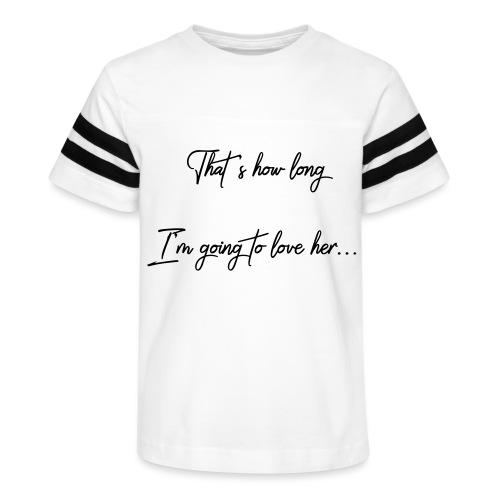 longloveher - Kid's Vintage Sport T-Shirt