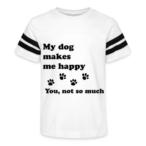 love dog 2 - Kid's Vintage Sport T-Shirt