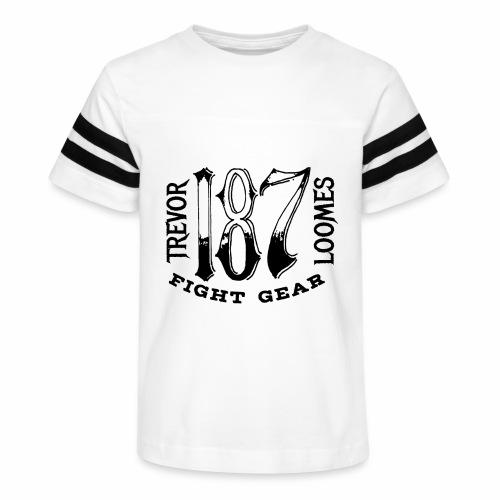 Trevor Loomes 187 Fight Gear Street Wear Logo - Kid's Vintage Sport T-Shirt