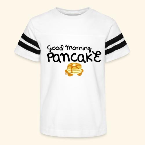 Good Morning Pancake Mug - Kid's Vintage Sport T-Shirt