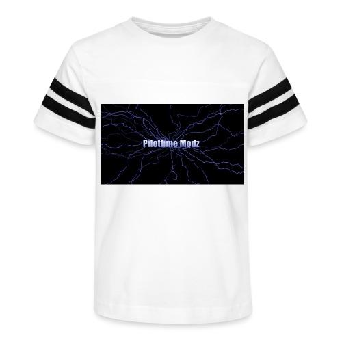 backgrounder - Kid's Vintage Sport T-Shirt