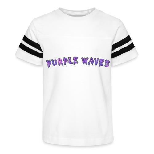 Purple Waves - Kid's Vintage Sport T-Shirt