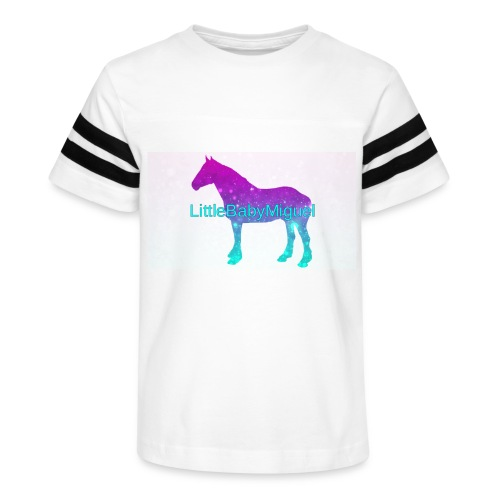 LittleBabyMiguel Products - Kid's Vintage Sport T-Shirt