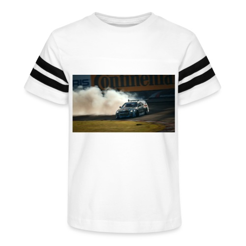 nissan skyline gtr drift r34 96268 1280x720 - Kid's Vintage Sport T-Shirt