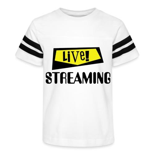 Live Streaming - Kid's Vintage Sport T-Shirt