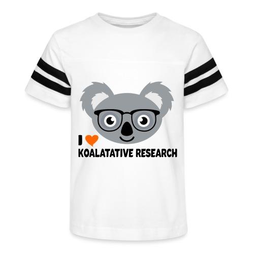 Koalatative Research - Kid's Vintage Sport T-Shirt