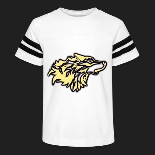 wolfepacklogobeige png - Kid's Vintage Sport T-Shirt