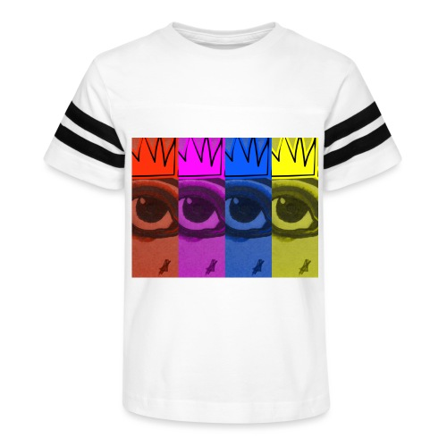 Eye Queen - Kid's Vintage Sport T-Shirt